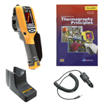 Fluke TI105-BOOK-TRIPOD-CARCHARGER-DD Depot Deal Thermal Imager w/ FREE Book, Tripod, & Car Charger