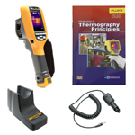 Fluke TI110-BOOK-TRIPOD-CARCHARGER-DD Depot Deal Thermal Imager w/ FREE Book, Tripod, & Car Charger