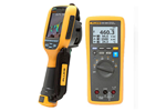 Fluke TI125/IND 30HZ Thermal Imaging Camera with Wireless Industrial Multimeter Combo Kit