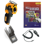 Fluke TI125-BOOK-TRIPOD-CARCHARGER-DD Depot Deal Thermal Imager w/ FREE Book, Tripod, & Car Charger