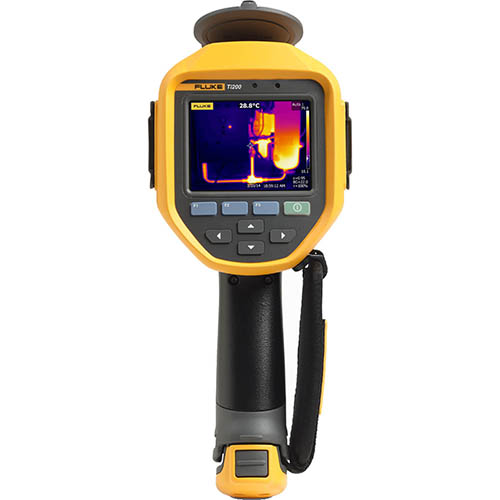 Fluke Ti200 60 Hz, 200 x 150, Advanced Thermal Imaging Camera (-4 to +1202°F)