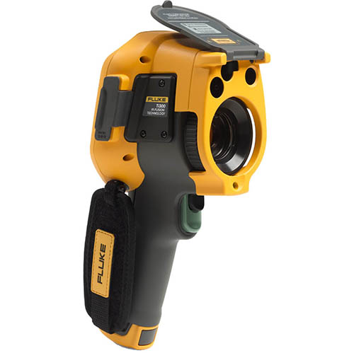 Fluke TI300 60HZ 60 HZ, 240 x 180, Industrial-Commercial Thermal Imaging Camera (-4 - 1202°F) (Back)