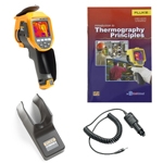Fluke TI300-BOOK-TRIPOD-CARCHARGER-DD Depot Deal Thermal Imager w/ FREE Book, Tripod, & Car Charger