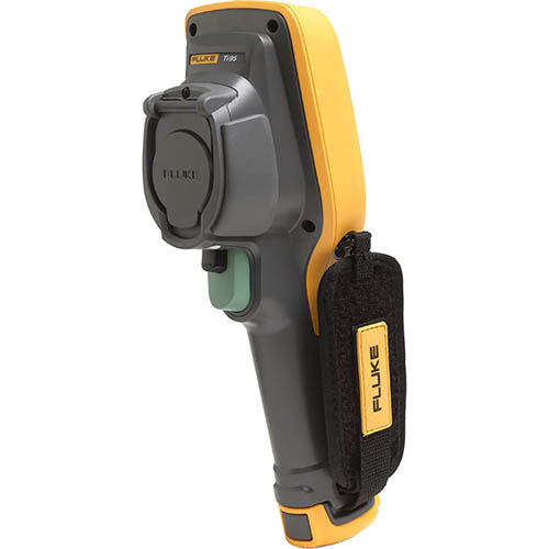 Fluke TI95 9HZ/FCC 9 Hz, 80 x 80, 5.6 mRad, General Use Thermal Imaging Camera (-4 - 482°F) with a3001 FC iFlex Module (Back)