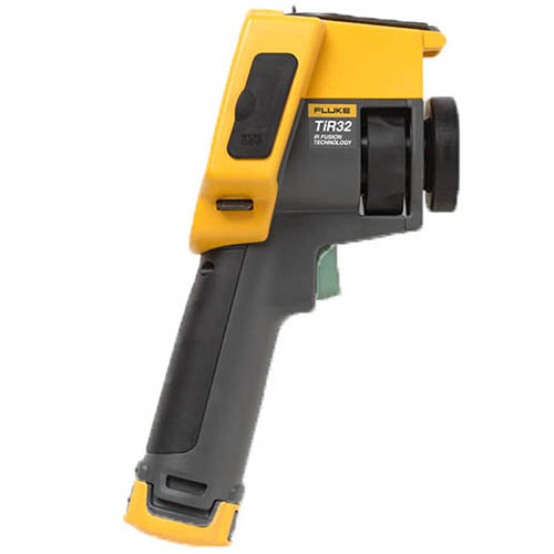 Fluke TIR32 60HZ 60 HZ, 320x240, 1.25 mRad, Building Diagnostic Thermal Imaging Camera (-4 - 302°F) (Side)
