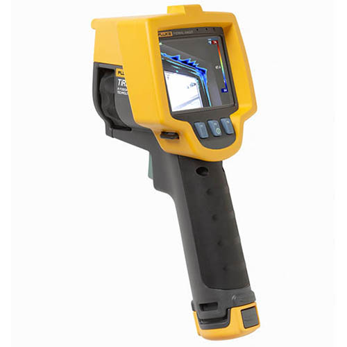 Fluke TIR32 60HZ 60 HZ, 320x240, 1.25 mRad, Building Diagnostic Thermal Imaging Camera (-4 - 302°F) (Back)