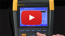 How To Check For Dips And Swells Using The Fluke 435