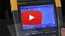 Logging Capture and Sample Rate On a Fluke 435 Series II