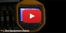 How to Turn on the LED Torch on Your Fluke Ti400, Ti300 and Ti200 Infrared Camera