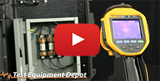 How to Set User Selected Markers on Your Fluke Ti400, Ti300 and Ti200 Infrared Camera
