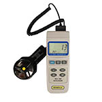 Click for larger image of the General Tools NISTDAF2005MDL Digital Vane Anemometer with Real Time Data Logging