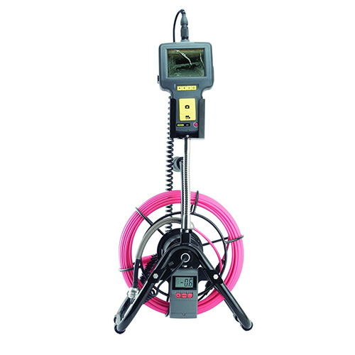 General Tools DPS16-R30 Pipe and Duct Video Borescope Inspection System, Replaceable Camera Head