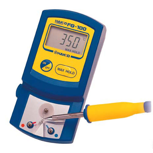 fg100 01 hakko fg100 01 digital solder tip celsius thermometer with lcd display for soldering. Black Bedroom Furniture Sets. Home Design Ideas