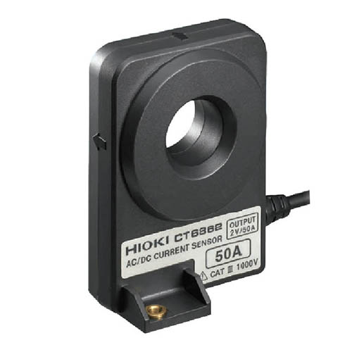 Click for larger image of the Hioki CT6862-30 50A, 1 MHz AC/DC Current Sensor, 10m cable