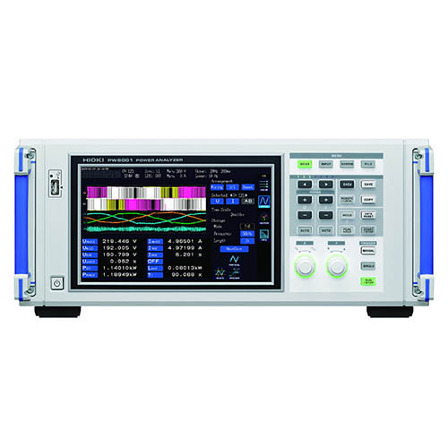 Hioki PW6001-15 5-Channel High Precision Power Analyzer, 0.1Hz - 2MHz, Motor Analysis, D/A Output