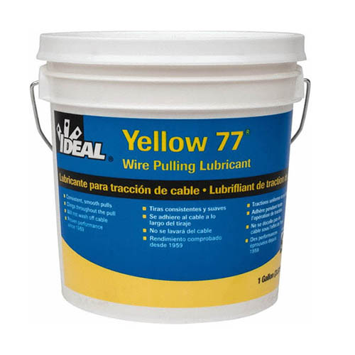 IDEAL Electrical 31-351 Yellow 77 Wire Pulling Lubricant (1 gal. Bucket)