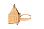 IDEAL Electrical 35-325 Standard Tuff-Tote Ultimate Leather Tool Carrier w/Shoulder Strap (Natural)