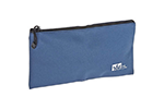 IDEAL Electrical 35-403 12 1/2 in. Nylon Zipper Pouch (Blue)