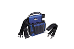 IDEAL Electrical 35-462 Journeyman Electrician's Multi-Ply Tote Tool Bag (Blue/Black)