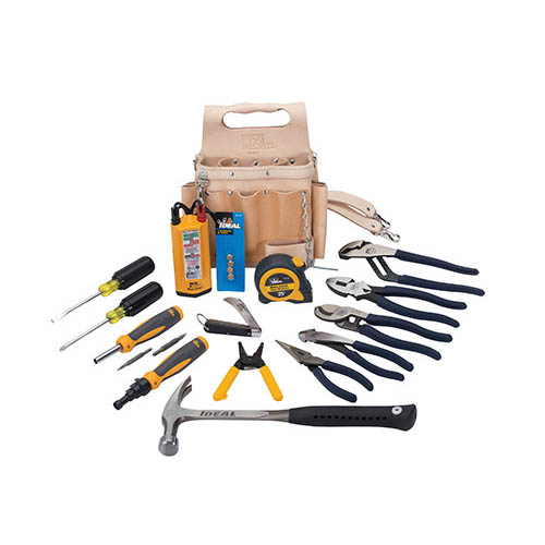 IDEAL Electrical 35-800 16-Piece Hand Tool Kit