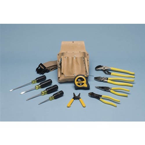 IDEAL Electrical 35-805 12-Piece Electrician's Hand Tool Kit
