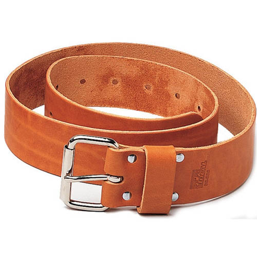 IDEAL Electrical 35-995 2 in. x 48 in. Premium Leather Belt (Tan)