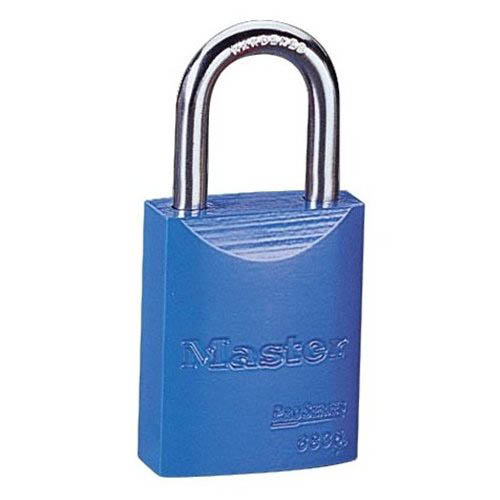 IDEAL Electrical 44-920 Aluminum Safety Padlock (Blue)