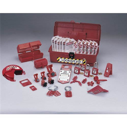 Ideal Electrical 44 974 Industrial Lockout Tagout Kit At