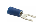 IDEAL Electrical 83-7051 #16-14 AWG/6 in. Vinyl Insulated Snap Spade Terminals (Pack of 25)