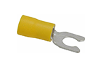 IDEAL Electrical 83-7081 #12-10 AWG/6 in. Vinyl Insulated Snap Spade Terminals (Pack of 25)