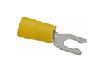 IDEAL Electrical 83-7101 #12-10 AWG/10 in. Vinyl Insulated Snap Spade Terminals (Pack of 25)