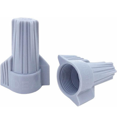 IDEAL Electrical 30-842 #6-18 AWG Model 342 Twister Wire Connectors (Gray, Barrel of 15,000)