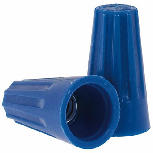 IDEAL Electrical 30-872 #14-22 AWG Model 72B Wire-Nut Wire Connectors (Blue, Barrel of 85,000)