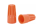 IDEAL Electrical 30-073 #14-22 AWG Model 73B Wire-Nut Wire Connectors (Orange, Box of 100)