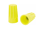 IDEAL Electrical 30-074 #12-18 AWG Model 74B Wire-Nut Wire Connectors (Yellow, Box of 100)