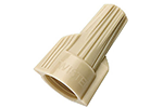 IDEAL Electrical WT41-1 #22-10 AWG Model WT41 WingTwist Wire Connectors (Tan, Box of 100)