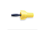 IDEAL Electrical WT51-1 #18-10 AWG Model WT51 WingTwist Wire Connectors (Yellow, Box of 100)