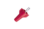 IDEAL Electrical WT52-1 #18-10 AWG Model WT52 WingTwist Wire Connectors (Red, Box of 100)