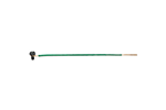 IDEAL Electrical 30-3392 #12 AWG Solid Grounding Tails/Loop/Ground Screw/Stripped (Green/50)