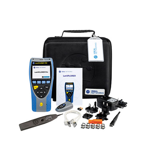 IDEAL Networks R150001 LanXPLORER Pro Model GbE Ethernet Diagnostic Tester