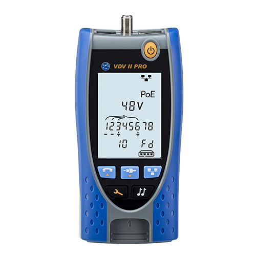 Ideal Networks R158003 Vdv Ii Pro Mm Cable Tester W Added