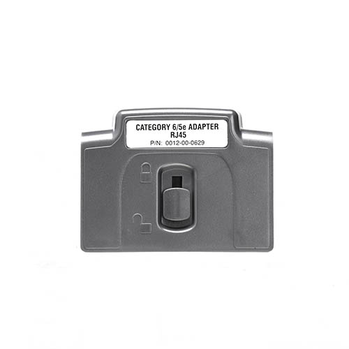 R161052 CAT6/5e RJ45 Channel Adapter for LanTEK III (Front)