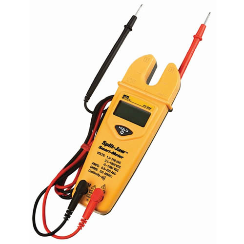 IDEAL Electrical 61-096 Automater SplitJaw Tester Measures 0-200AAC0/750VAC0/1000VDC0/2000OhmS