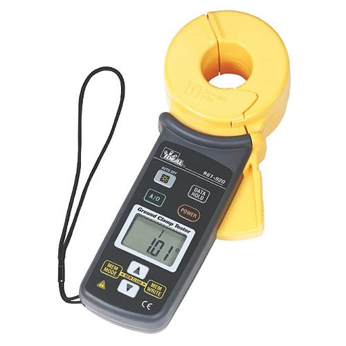 Electrical Resistance Meter : Ideal electrical ground resistance clamp meter