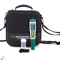 Extech PH100-TEC25-DD ExStik pH Meter Kit with Fotronic EVA Case