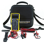 115-LEADS-TPAK-TEC25-DD Digital Multimeter, Test Leads, Magnetic Meter Hanging Kit, and EVA Case