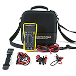 117-LEADS-TPAK-TEC25-DD True RMS Multimeter with Premium Test Leads, Magnetic Hanging Kit and EVA Case