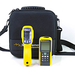 424D-62MAX-2AC901000V-TEC25-DD Laser Distance Meter, 10:1 Infrared Thermometer, Voltage Detector, and EVA Case
