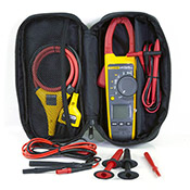 376FC-TL223-DD True-RMS AC/DC Clamp Meter Kit with Fluke Connect and Premium Test Leads