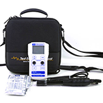 MW802-TEC25-DD Standard Portable pH/Conductivity/TDS Combination Meter with Fotronic EVA Case
